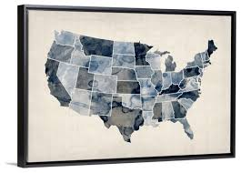 us map framed united states map artwork black and white united states map wall