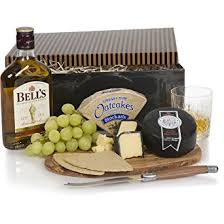 whisky cheese gift set hers for him cheese