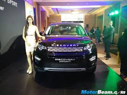 land rover discovery sport black land rover discovery sport launched in india priced from rs 46 1