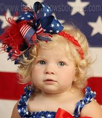buy big patriotic flag 4th of july boutique hair bow