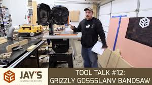 grizzly tools black friday sale tool talk 12 grizzly g0555lanv bandsaw youtube