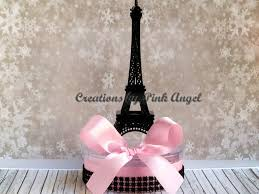 Eiffel Tower Decoration Set Of 3 Small Black Eiffel Tower Centerpieces Paris Bridal