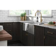 white kitchen cabinet knobs home depot liberty fluted square 3 1 8 in 79 mm chagne bronze