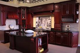 kitchen cabinets cherry cherry kitchen cabinets with dark floors one of the best home design