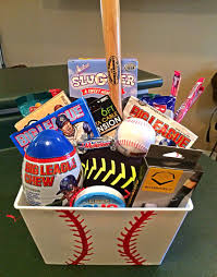 themed gifts baseball themed gift basket baseball themed gift