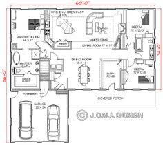 One Story Open House Plans One Story House Plans With Open Concept Plan 1275 Floor Plan