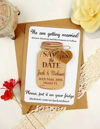 Save The Date Wedding Magnets Custom Save The Date Magnet Set Wood Save The Date Wedding Save