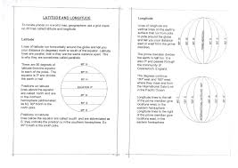 World Map With Longitude And Latitude Lines by Latitude And Longitude Worksheets 6th Grade Worksheets