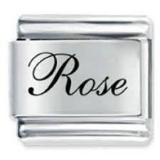 edwardian script font name rose italian charm 6 74 jewelry