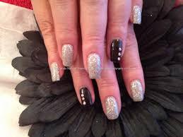 aweet awesome acrylic crystal nail design fashion fuz