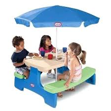 little tikes easy store jr picnic table little tikes picnic table with umbrella little deluxe ride and relax