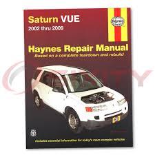 haynes saturn vue 02 07 repair manual 87040 shop service garage