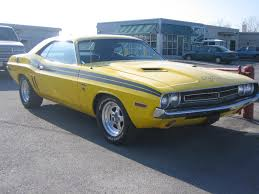 1970 71 dodge challenger for sale 1971 car dodge challenger r t yellow sports car