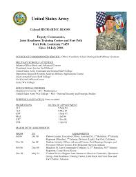 Infantryman Skills Resume Army Infantry Resume Cbshow Co