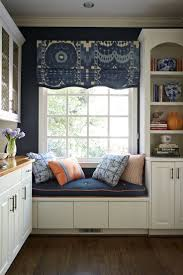 210 best bay window images on pinterest live window seats and fantastic fabric on the roman shade custom window treatment