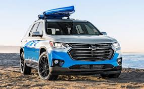 chevrolet traverse blue 2018 chevrolet traverse sup concept