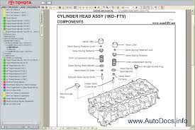 toyota land cruiser prado 120 service manual repair manual order