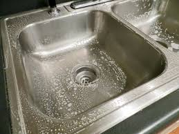 Clean Kitchen Sink Drain by The Secret To Cleaning Stainless Steel Sinks Angela Says