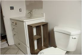 bathroom organizers furniture white wooden floating cabinet with