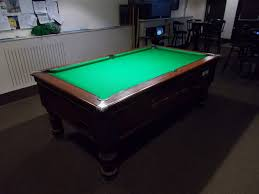 west end pool table local pool table re cover and clean out of table in nottinghamshire