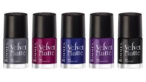 rimmel velvet matte collection nail polish swatches u0026 review youtube