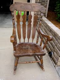 Used Rocking Chairs For Nursery Refinishing A Rocking Chair Between3sisters