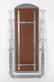 Mid Century Modern Wall Mirror Curtis Jere Mid Century Chrome Steel Wall Mirror Modernism