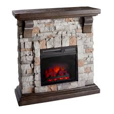 infrared heat stone fireplace with remote control christmas tree