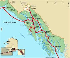 alaska major cities map city region maps