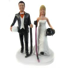 hockey groom wedding cake topper unavailable listing on etsy