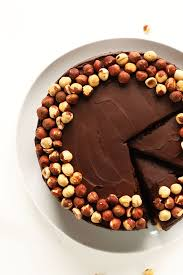 thanksgiving chocolate dessert 1 bowl chocolate hazelnut cake vegan gf minimalist baker recipes