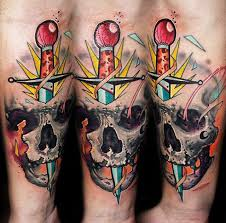 horror skull by lehel nyeste design of tattoosdesign of