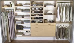 Wall Wardrobe Design by Decorating Cool Wooden Lowes Closet Systems With Shelves And