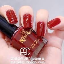 wine red nail polish oil nfu oh eco friendly nail polish oil red