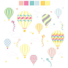 hot air balloon kites wall stickers previous