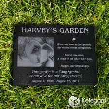 engraved memorial stones granite pet memorial 8 x 12 x 1 thick make mine personalized