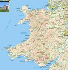 Map Of Wales England by Wales Images Reverse Search