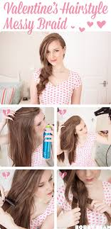 quick hairstyles for long hair at home simple side hair braid jpg