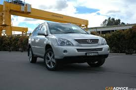 lexus rx 400h occasion view of lexus rx 400h photos video features and tuning of