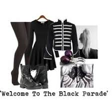 Mcr Halloween Costume Chemical Romance Black Parade Band