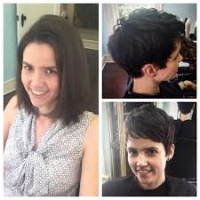before and after picuters of long to short hair before and after fall pixie tryst