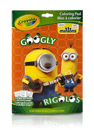 crayola googly minions colouring book amazon uk toys u0026 games
