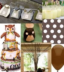 Owl Decorations by Baby Shower Decorations Owl Theme Boy Owl Baby Shower Decorationsj