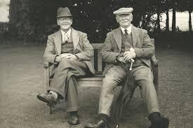 how did the scottish men plait and club their hair james braid golf society hockley golf club