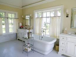 Gray Yellow Bathroom - master bathroom vaulted ceiling design ideas