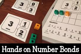 introducing number bonds with hands on experiences math coach u0027s