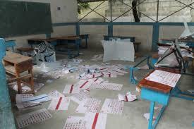 bureaux de vote urgent des bureaux de vote du centre baye lahat de touba saccagés