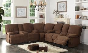 Recliners Sofas Modern Sectionals With Recliners Living Room Sectional With 4