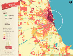 Us Map Chicago by Millennial Neighborhood Maps Business Insider