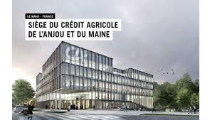 adresse siege credit agricole visite de chantier du siège crédit agricole anjou maine novabuild